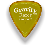 Load image into Gallery viewer, Razer Standard 4.0mm Yellow Guitar Pick