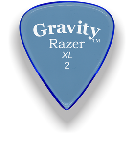Razer XL 2.0mm Blue Guitar Pick