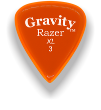 Load image into Gallery viewer, Razer XL 3.0mm Orange Guitar Pick