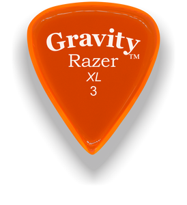 Razer XL 3.0mm Orange Guitar Pick