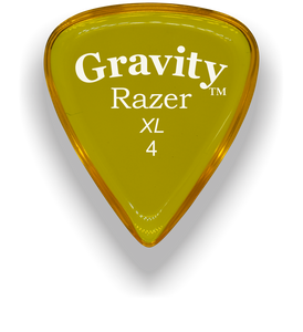 Razer XL 4.0mm Yellow Guitar Pick