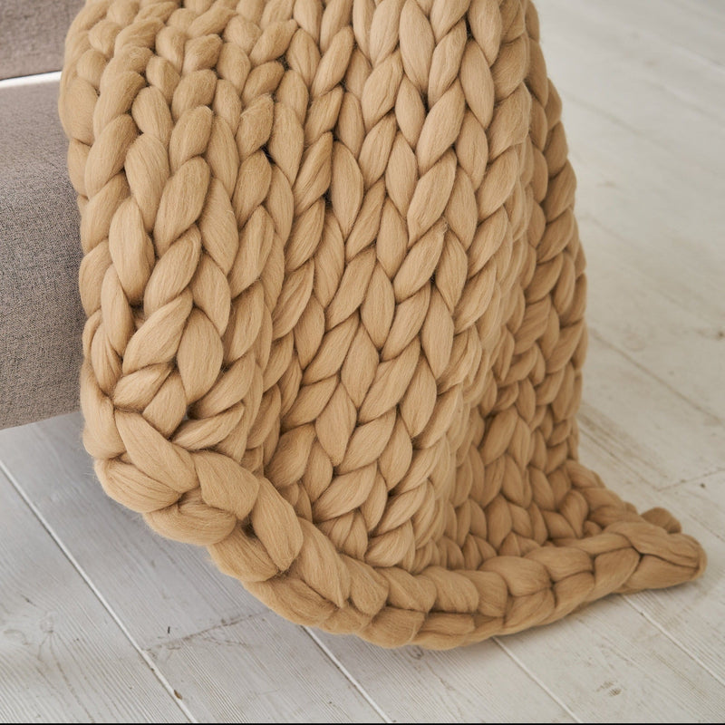 Jyderup Chunky Knit Throw