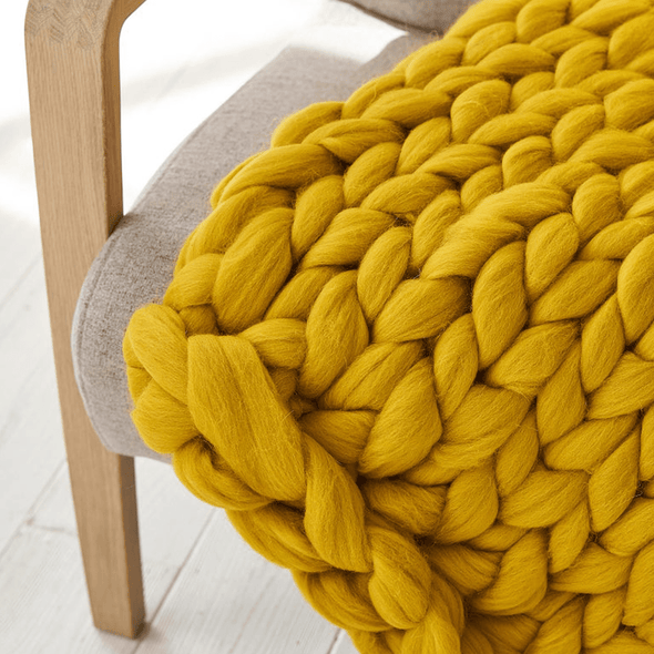 Jyderup Chunky Knit Blanket - Simply Hygge