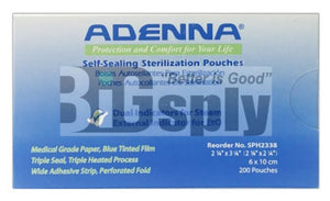 Self seal Sterilization Pouches - Adenna