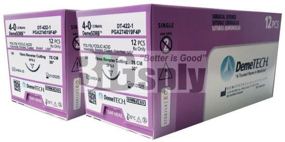 Suture-Absorbable PGA 12/bx