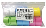 Denture Boxes Assorted 12/bx