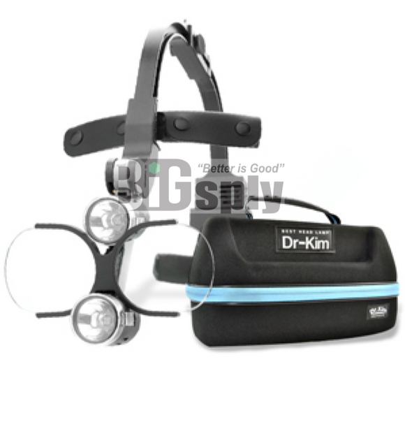 Dr Kim Headlight & 2.0 Loupe & Bag
