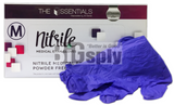 Gloves Nitrile Powder Free-Essentials 300/bx