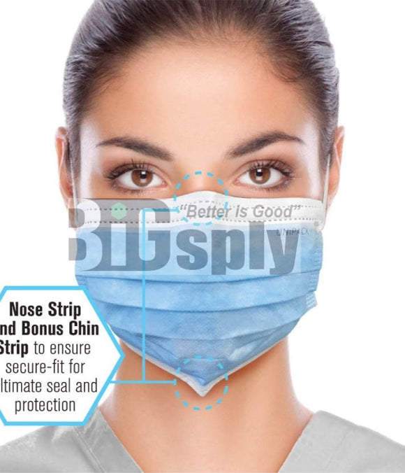 Face Mask-Level 1 Uniguard 50/bx
