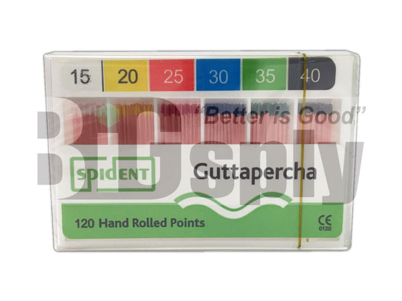 Gutta Percha Points (ISO Standardized) 120/packs