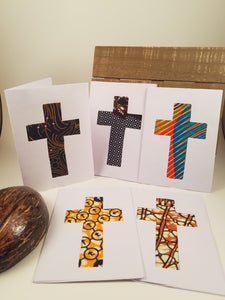 Handmade Cards - set of 5 (Masanga Collection)
