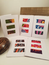 Load image into Gallery viewer, Handmade Cards - set of 5 (Masanga Collection)
