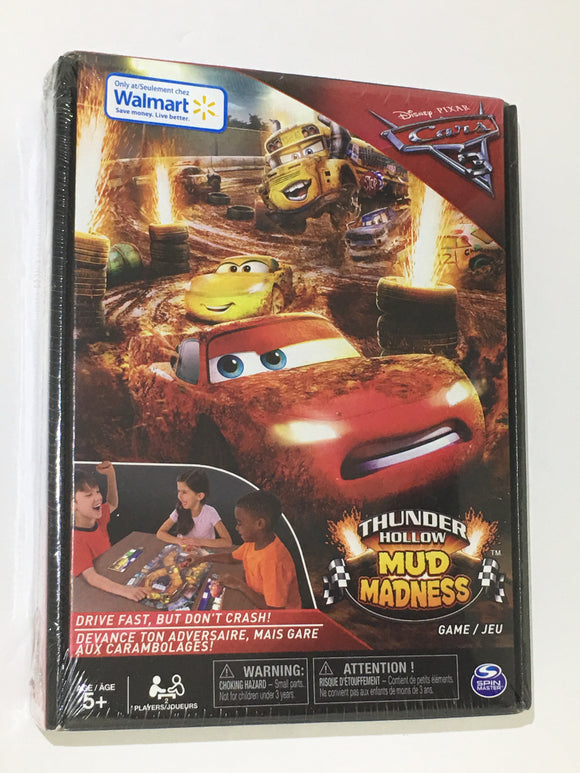 Disney/'s CARS 3~Thunder Hollow Mud Madness GAME~NEW in Box~Lightning McQueen