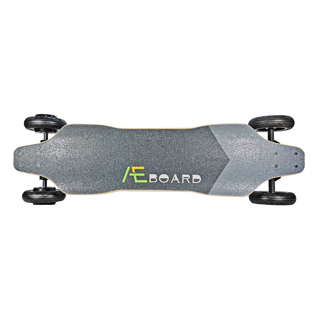 All Terrain Electric Skateboard 39 Inch AEBOARD AT2 (AT1 Upgrade Version),Flex Flexible Battery