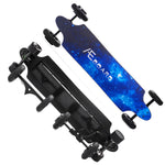 All terrain electric skateboard +2 highway wheels AT+(Swappable Wheels)(10S3P Battery)