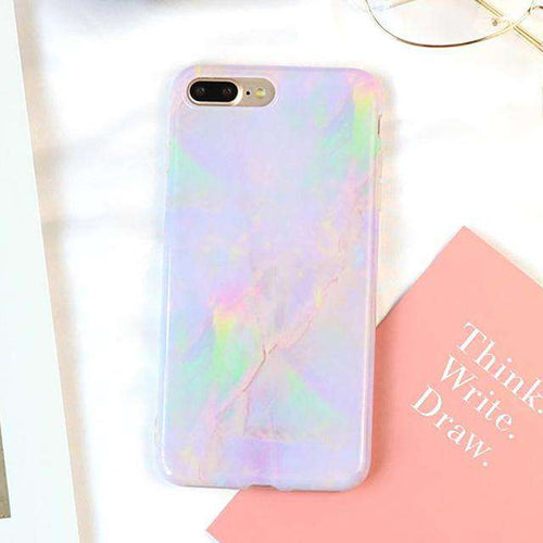 Marble Texture Pattern Phone Case - iPhone - Bool
