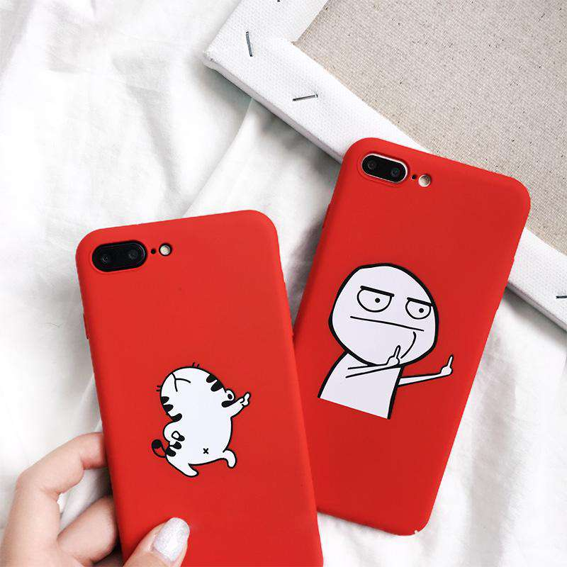 Funny Cartoon Phone Case - iPhone - Bool