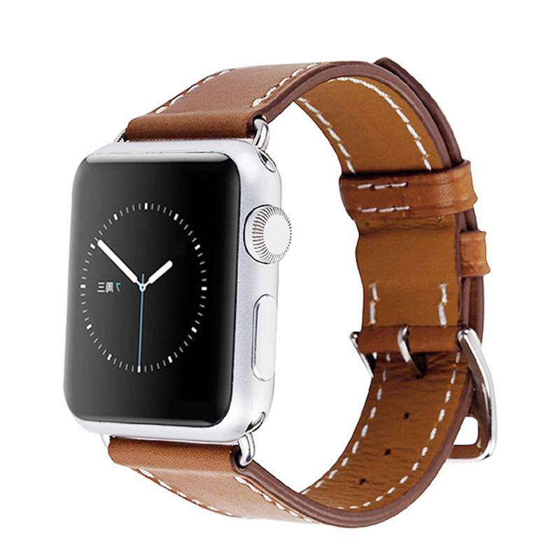 Genuine Leather Apple Watch Buckle Strap - Bool