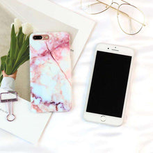 Load image into Gallery viewer, Marble Texture Pattern Phone Case - iPhone - Bool