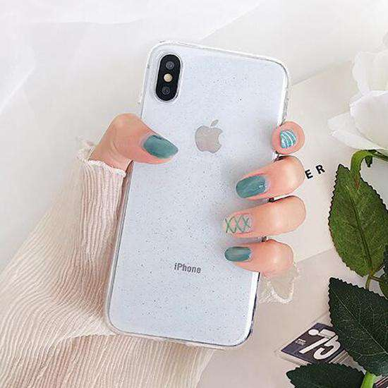 Clear Glitter Soft Phone Case - iPhone - Bool