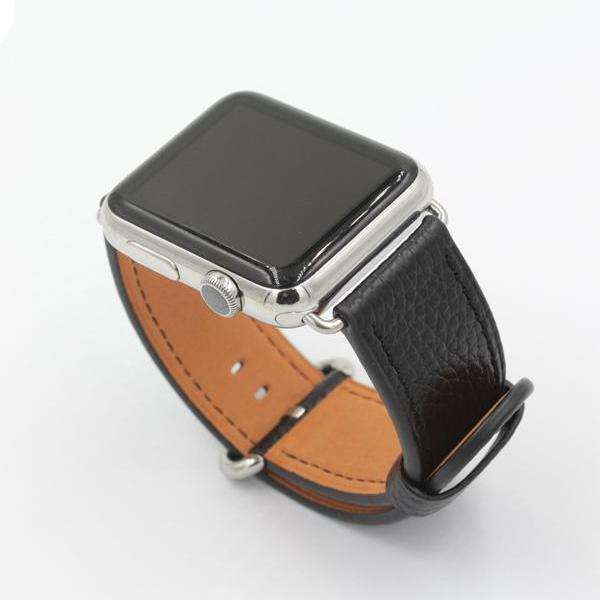 Plain Leather Apple Watch Strap - Bool