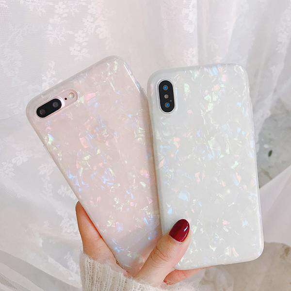 Shiny Shell Case For iPhone
