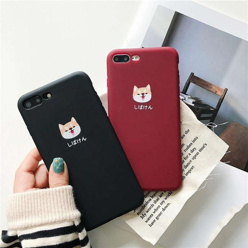 Cute Dog Phone Case - iPhone