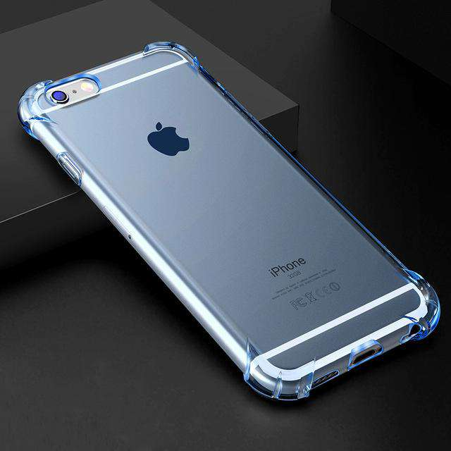 Shockproof Clear Phone Case - iPhone - Bool