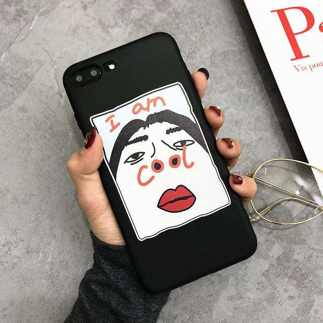 """I am cool"" Phone Case - iPhone - Bool"