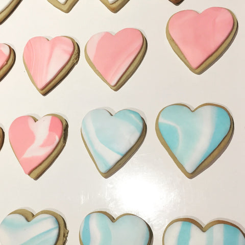 Baby Shower Hearts