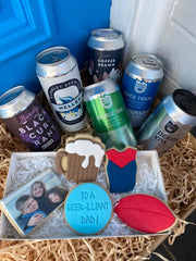 Father's Day Cookie - BEER-IRRIFIC DAD!