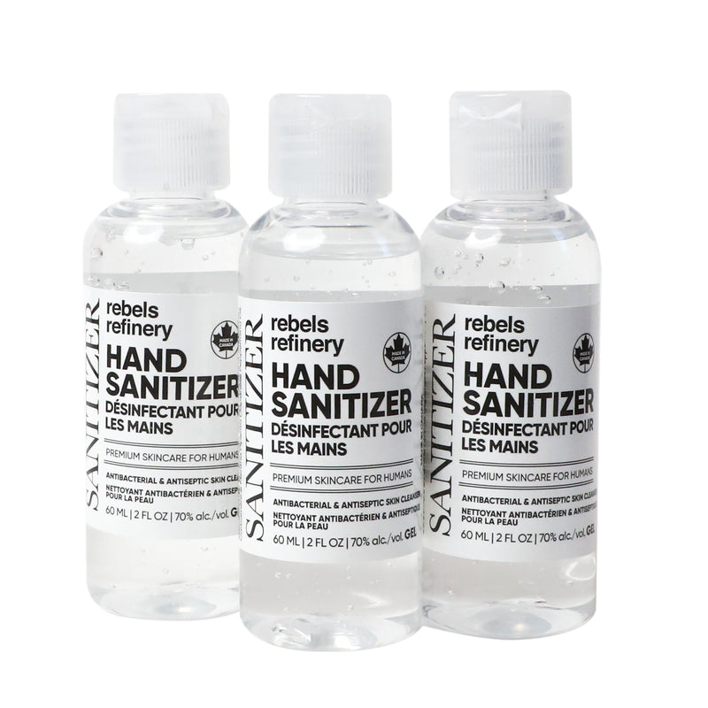SINGLE 60ML World Health Organization Hand Sanitizer Formulation - Gel