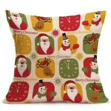 Load image into Gallery viewer, Christmas Decoration Cushion Cover