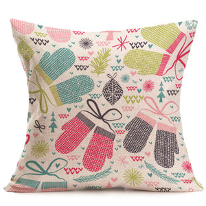 Christmas Decoration Cushion Cover
