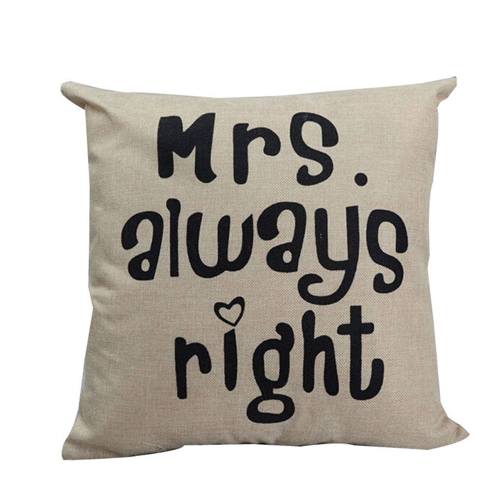 Always Right Cushion Cover
