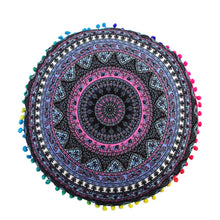 Load image into Gallery viewer, Indian Mandala Floor Pillows