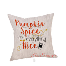 Load image into Gallery viewer, Coffee Calling Quote Cushion Cover