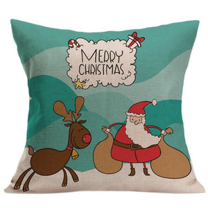 Happy Christmas Cushion Cover