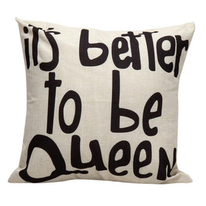 The Queen Cushion Cover