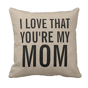 My Mom Cushion Cover