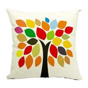 Art Tree Cushion Cover