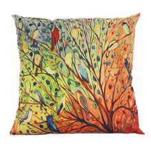 Load image into Gallery viewer, Tree Floral Cushion Cover