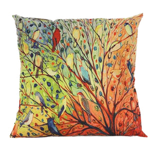 Tree Floral Cushion Cover