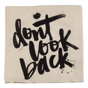 Don't Look Back Cushion Cover