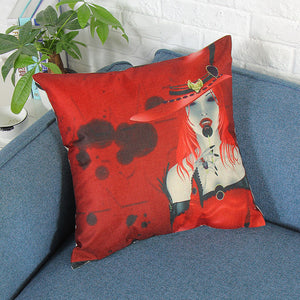 Halloween Print Cushion Cover