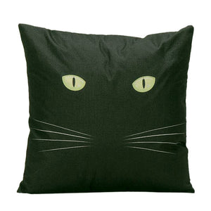 Vintage Cat Cushion Cover