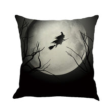 Load image into Gallery viewer, Halloween Moon Cushion Cover