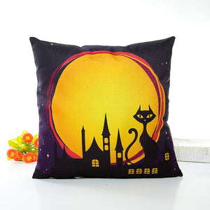 Halloween Owl Cushion Cover