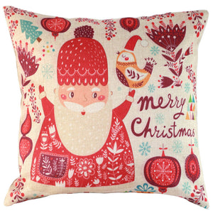 Vintage Christmas Cushion Cover