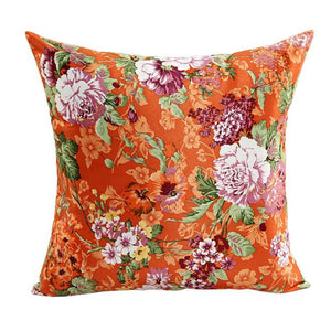 Beautiful Flowers Cushion Cover